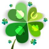 Sts Patrick begrepp för dagberöm Royaltyfri Foto