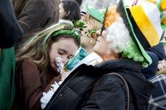 Sanktt Patricks dag i Bucharest 12 Royaltyfri Fotografi