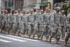 Sts Patrick dag ståtar New York 2013 Royaltyfri Foto