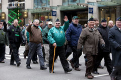 Sts Patrick dag ståtar New York 2013 Royaltyfria Foton