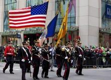 Sts Patrick dag ståtar New York 2013 Fotografering för Bildbyråer