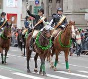 Sts Patrick dag ståtar New York 2013 Arkivbild