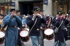 Sts Patrick dag ståtar New York 2013 Arkivfoto