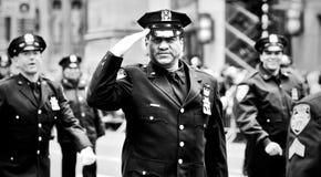 Sts Patrick dag ståtar New York 2013 Arkivfoton