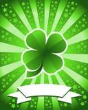 Sts Patrick dagbakgrund Fotografering för Bildbyråer