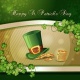 Sts Patrick dagkort Arkivfoton