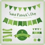 Sts Patrick daguppsättning Royaltyfria Bilder
