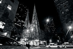Sts Patrick domkyrka i Manhattan New York City Royaltyfria Foton