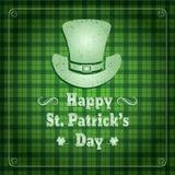 Sts Patrick retro bakgrund för dag Fotografering för Bildbyråer