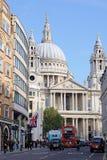 Sts Paul domkyrka, London, England Arkivfoto