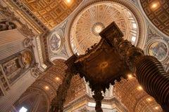Sts Peter Basilica Fotografering för Bildbyråer