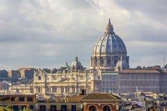 Sts Peter basilika i Rome [2] Royaltyfri Foto