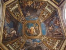 Sts Peter basilika, Vaticano, Roma, Italien fotografering för bildbyråer