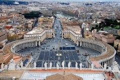 Sts Peter fyrkant, Vaticanen Royaltyfri Bild