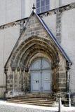 Sts Peter kyrka av Goerlitz i Sachsen Arkivbild