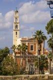 Sts Peter kyrka i Jaffa, del av Tel Aviv israel royaltyfria foton