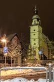 Sts Peter kyrka, Weilheim en der Teck, Tyskland arkivbild