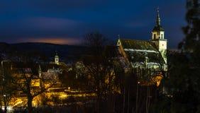 Sts Peter kyrka, Weilheim en der Teck, Tyskland royaltyfria bilder
