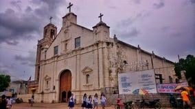 Sts. Peter and Paul Parish. Oldest Church in Bantayan Cebu Royalty Free Stock Image