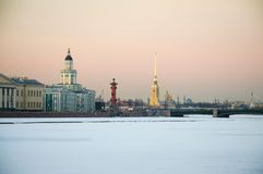 Sts Petersburg dragning fotografering för bildbyråer