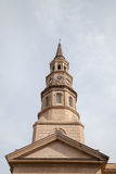 Sts Philip episkopalkyrkan, charleston, SC arkivbild
