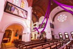 Sts. Roman Simeon och Elena - katolsk kyrka Arkivfoto
