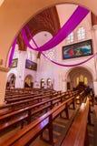 Sts. Roman Simeon och Elena - katolsk kyrka Royaltyfri Bild