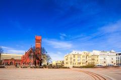 Sts. Simeon και Elena Ρωμαίος - καθολική εκκλησία Στοκ Φωτογραφία