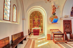 Sts. Simeon and Elena roman catholic church Stock Images