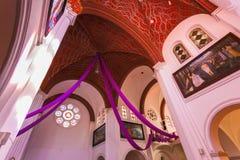 Sts Simeon en de rooms-katholieke kerk van Elena Royalty-vrije Stock Fotografie