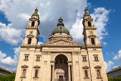 Sts Stephen Basilica, Budapest, Ungern Arkivbild