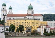 Sts Stephen domkyrka i Passau Arkivfoton