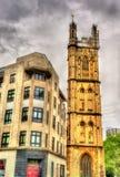 Sts Stephen hus och Sts Stephen kyrka i Bristol Arkivfoton