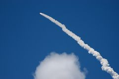 STS121 Shuttle Launch Stock Image