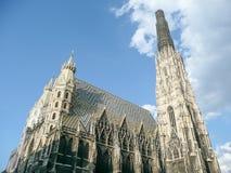 StStephan Kathedrale, Wien, Österreich Lizenzfreies Stockbild