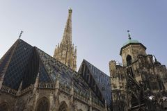 StStephen ` s katedry dach Zdjęcia Royalty Free