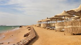 Sätta på land på det lyxiga hotellet, Sharm el Sheikh, Egypten Royaltyfria Bilder