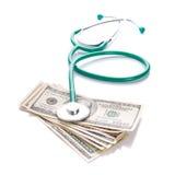 Expences pour des soins de santé Photo libre de droits