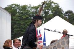Stuart Cameron, jongste ooit EreLeider Stock Foto's