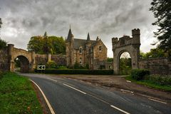Castle Stuart Gatehouse Stock Photos