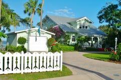 Stuart house. On the florida atlantic coaste Royalty Free Stock Images