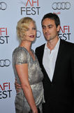 Stuart Townsend,Charlize Theron Stock Images