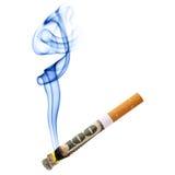 Stub сигареты стоковое изображение rf