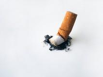 Stub of cigarette Royalty Free Stock Photo