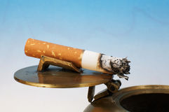 Stub of a cigarette Royalty Free Stock Image