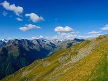 Stubai阿尔卑斯在蒂罗尔 库存图片