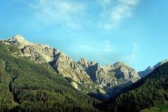 Stubai阿尔卑斯 免版税库存照片