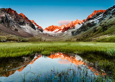 Stubai Alps, Austria Stock Images