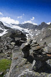 Stubai glacier Royalty Free Stock Images
