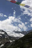 Stubai glacier Stock Photos